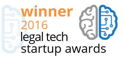 Winner Dutch Legal Tech Startup Awards 2016