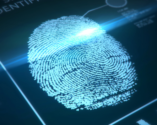 finger print electronic signature