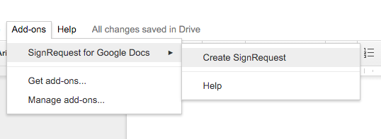 Electronic digital signatures with google drive docs and gmail google docs electronic digital signature yadclub Images