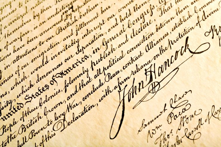 Signature John Hancock